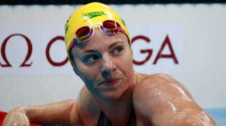 Emily Seebohm is chasing gold in China.