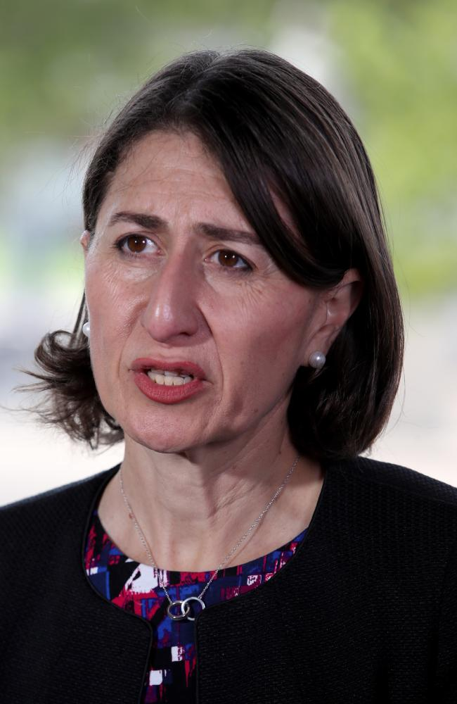 Premier Gladys Berejiklian says technology must be an enabler not a distraction. Picture: AAP