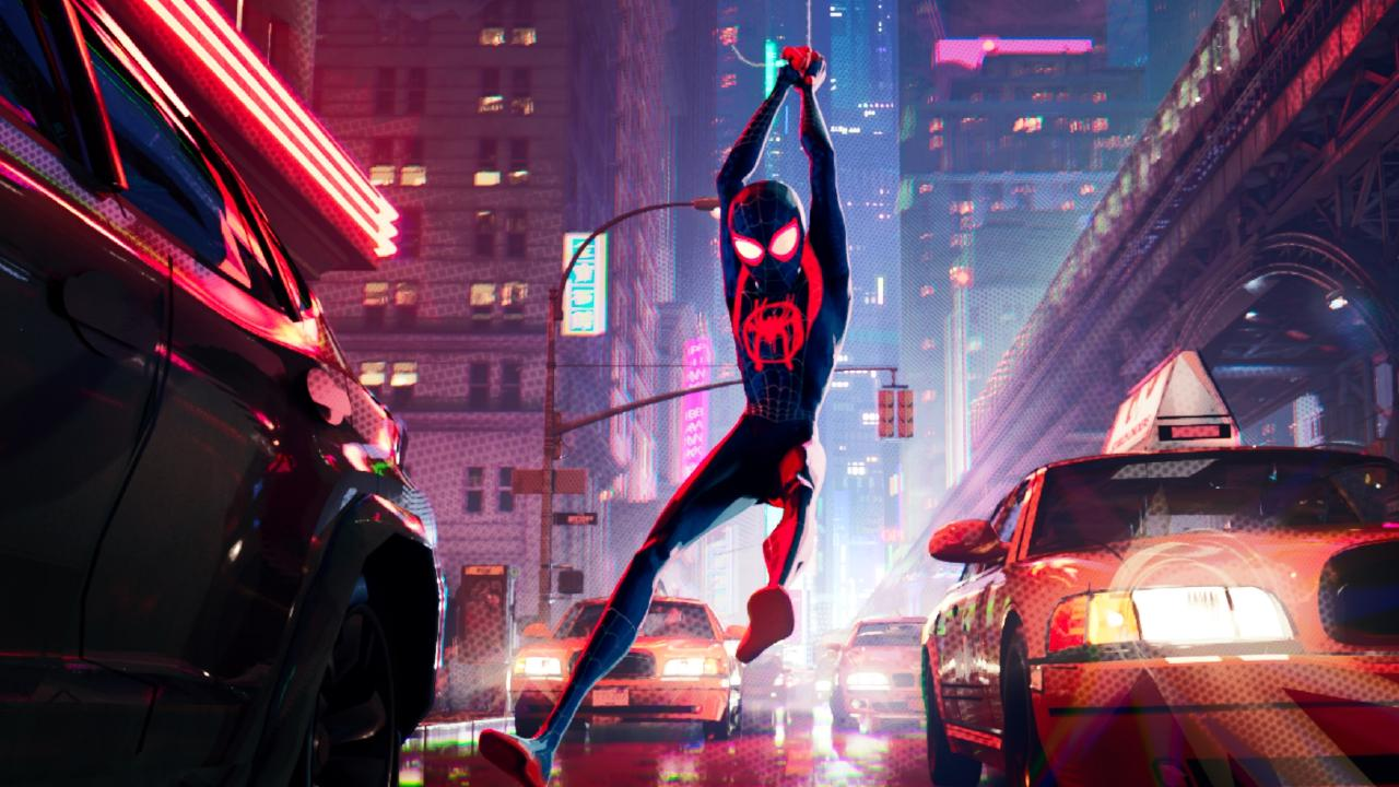 Spider-Man: Into the Spider-Verse leans into its comic book heritage