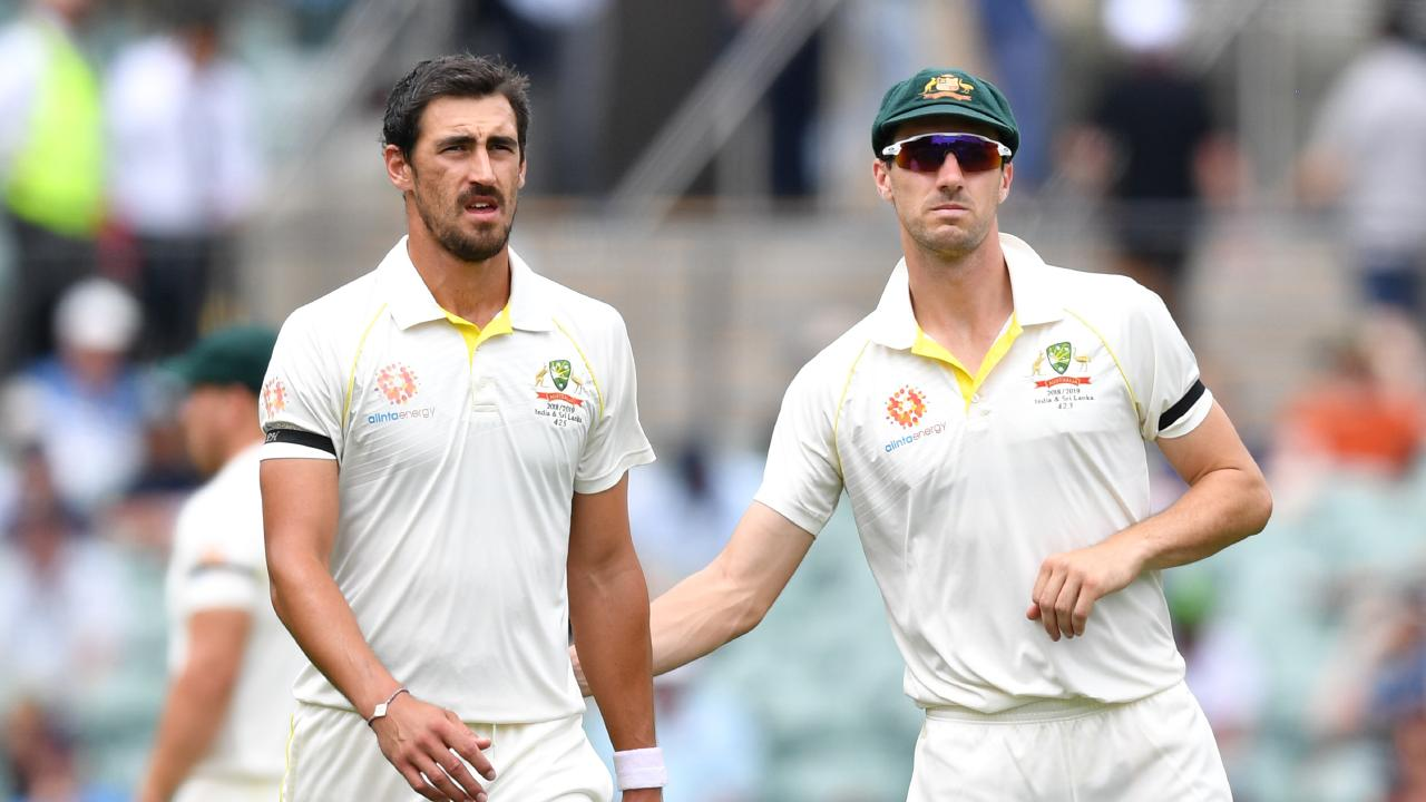 The Aussie quicks were second best in Adelaide.