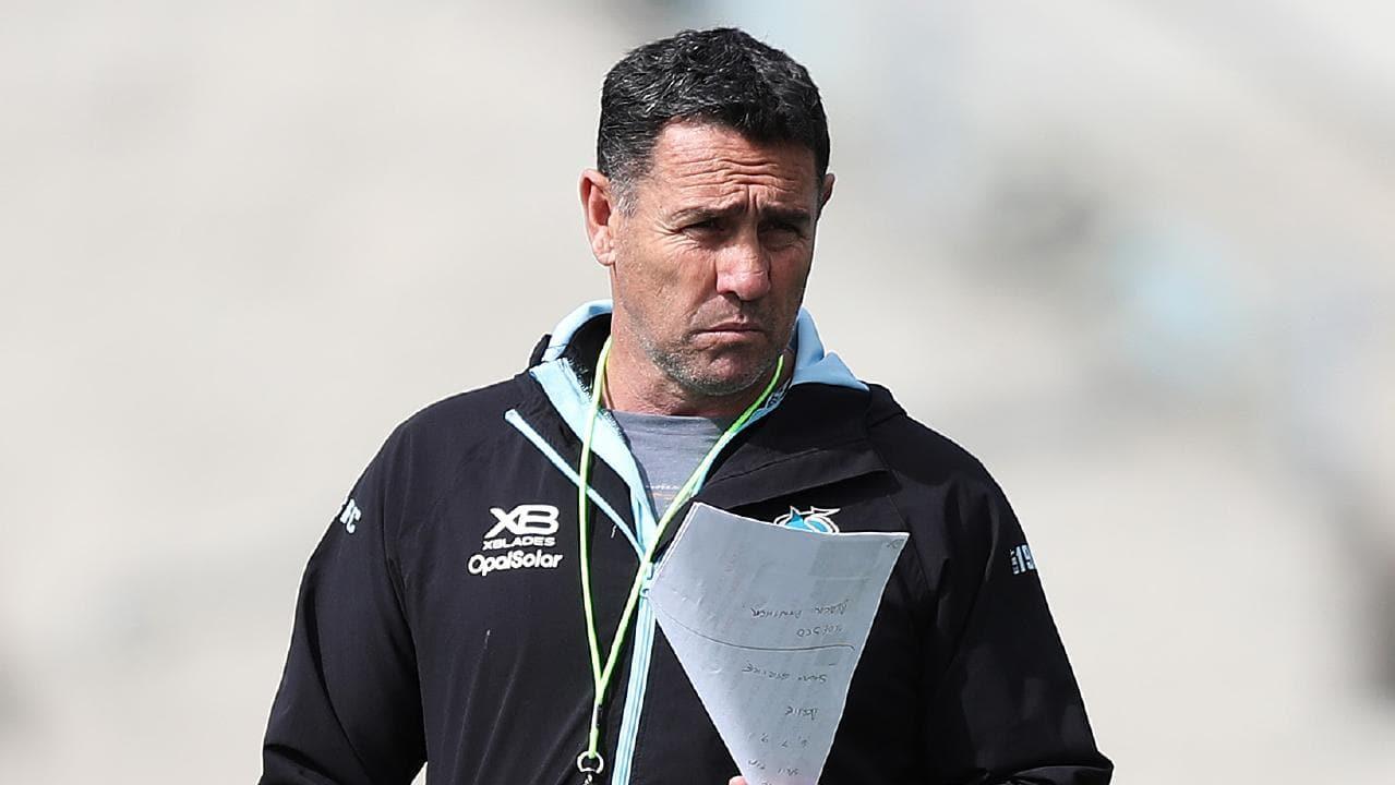 Cronulla coach Shane Flanagan's role during his suspension has come under scrutiny. (Brett Costello)
