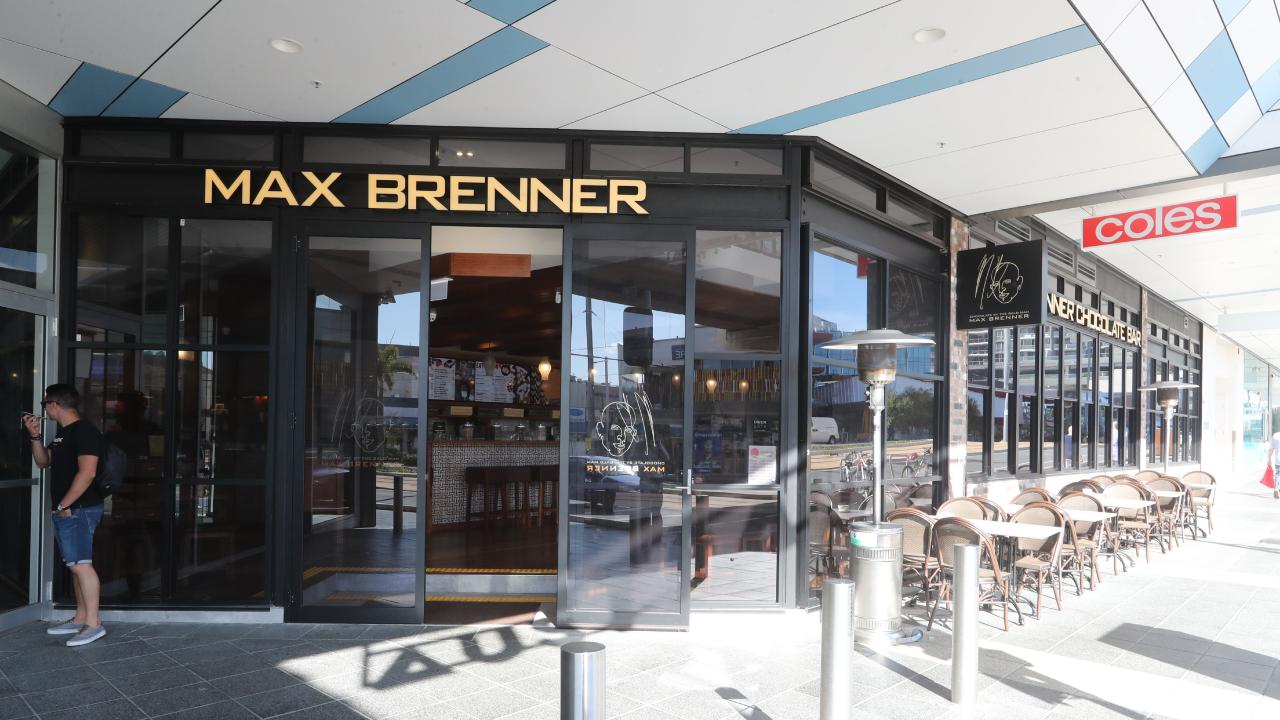 The Max Brenner outlet at Southport will reopen its doors this Friday at noon. Picture: Richard Gosling