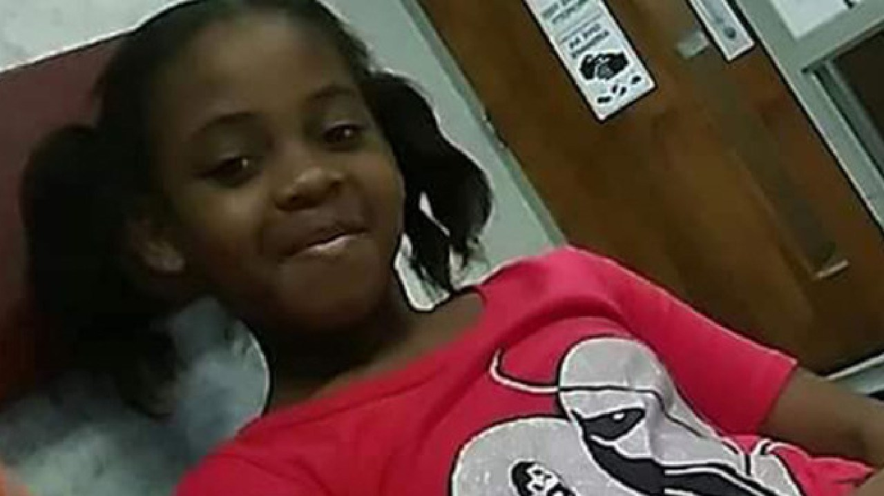 McKenzie Adams, nine, killed herself after classmates allegedly mocked her for having a white friend, her family says. Picture: Facebook