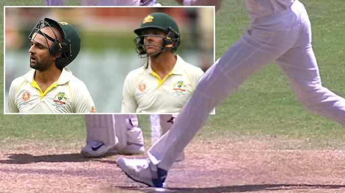 Commentators reported watching Ishant Sharma overstep four times in one over on two separate occasions.