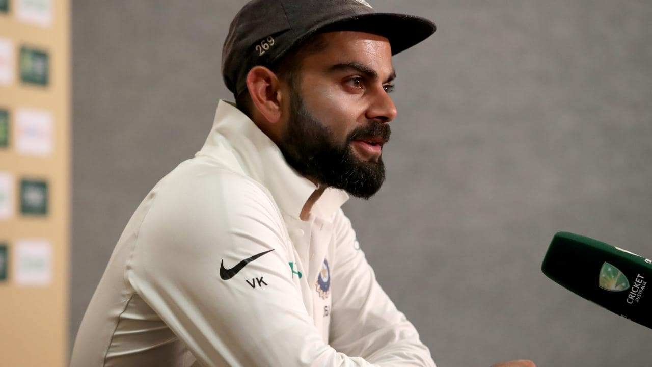 Virat Kohli was reportedly involved with former coach Anil Kumble's axing.