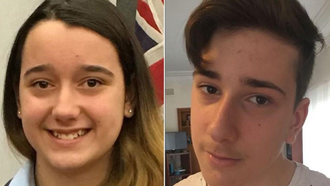 Siblings Jennifer, 13, and Jack Edwards, 15, were shot dead