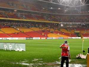 Cyclone threatening Roar-Victory clash