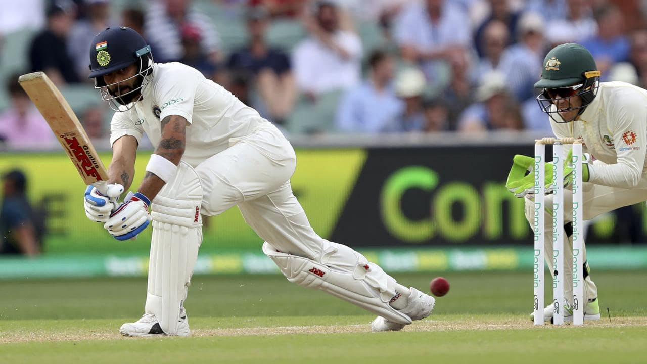 India's Virat Kohli failed to register a big score in Adelaide.