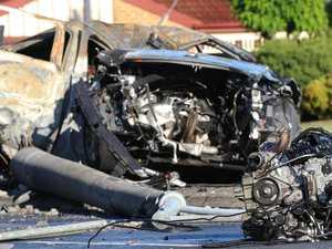 180km/h crash driver's dark turn