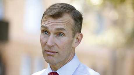 "NSW Education Minister Rob Stokes said the government wanted to balance the ""risks"" and ""rewards"" of using smart phones in classrooms. Picture: Chris Pavlich"