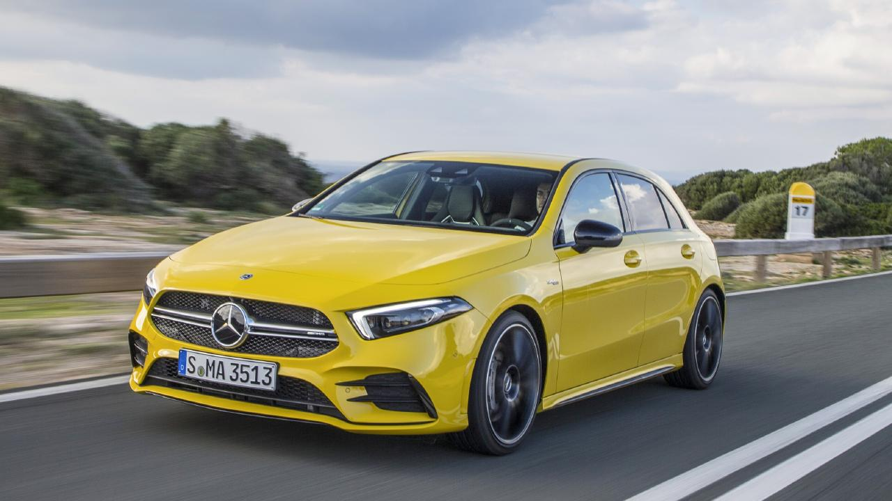 The Mercedes-AMG A35 is due to arrive in 2019.