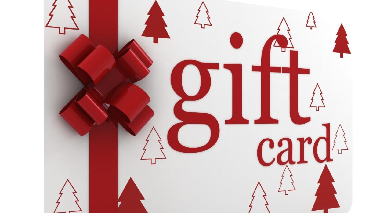 gift card, Christmas, generic