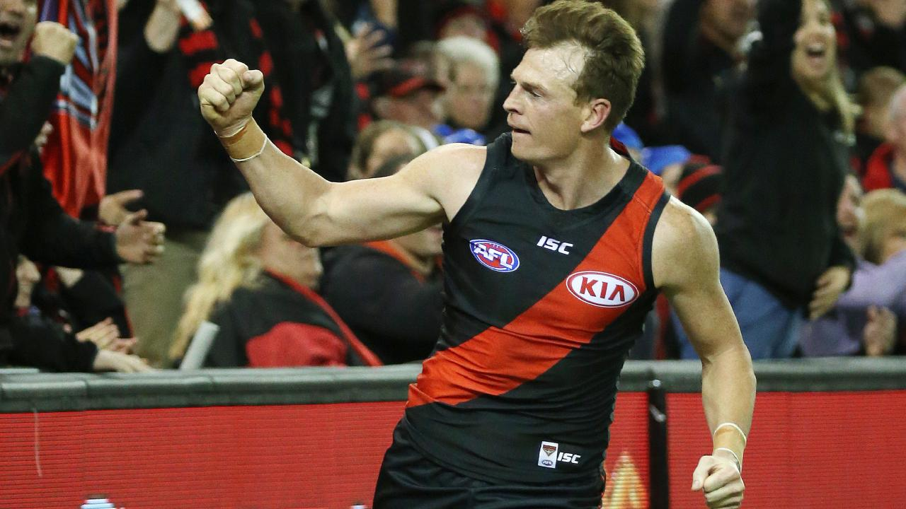 Brendon Goddard joined Essendon just as the club's supplements scandal was unfolding. Picture: George Salpigtidis