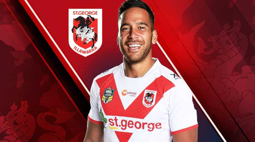 Corey Norman signs with the Dragons.