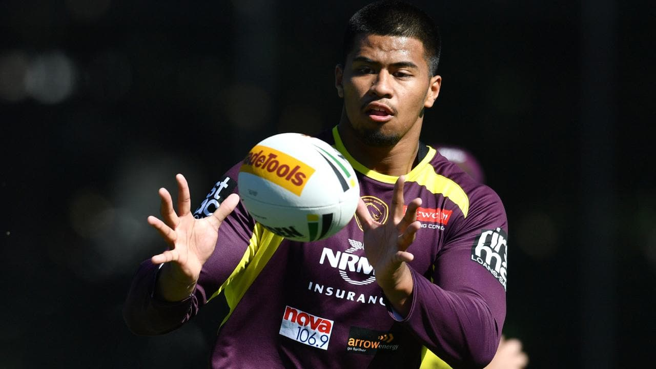 Payne Haas is set to stay put in a major boost for the Broncos. Picture: AAP