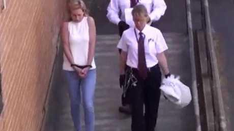 Mackay following her arrest.