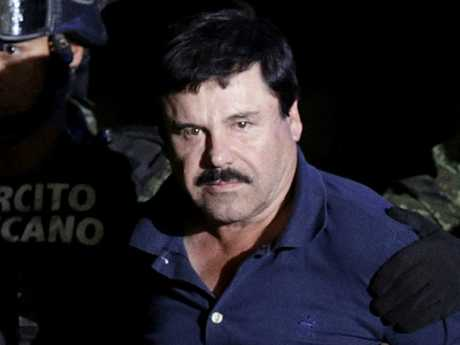 El Chapo, meaning 'shorty' in Spanish, could face life in prison if he is convicted on 17 charges of trafficking $19 billion of cocaine into the US. Picture: Reuters/Henry Romero/File Photo