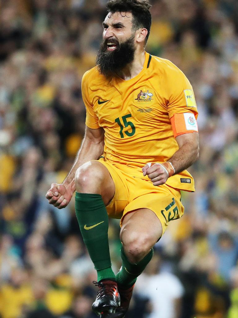 Mile Jedinak could be the newest marquee player. (Brett Costello)