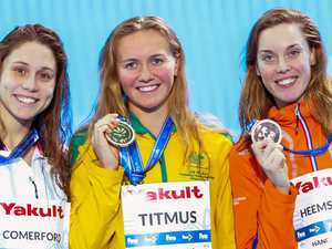 Rising star smashes Aussie record to take gold