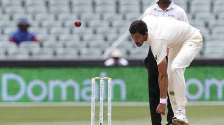 Paine expects Mitchell Starc to bounce back in Perth. Picture: AP