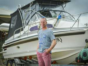 ME AND MY BOAT: John McEachren, Gladstone owns a 7.02