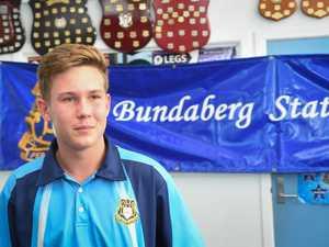 Bundaberg State High School student, Brad Shorter, is