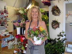 Christmas blooms for floral art workshop