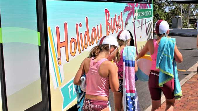 Noosa Council will trial free bus services for the length of the Queensland Christmas school holidays as part of a suite of measures aimed at reducing congestion.