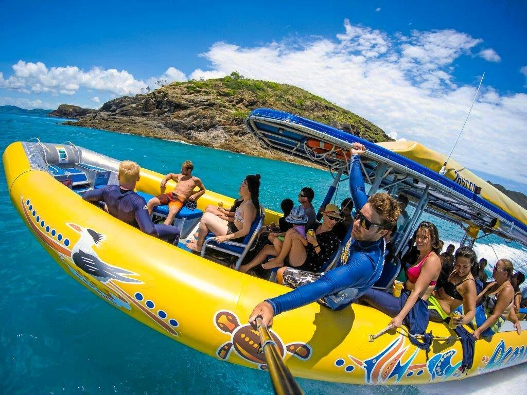 ON THE WATER: Ocean Rafting is a popular ecotourism operator in the Whitsundays.