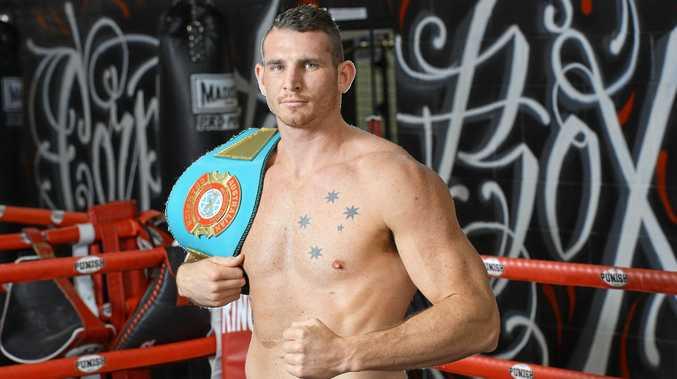 Australian heavyweight champion Demsey McKean.