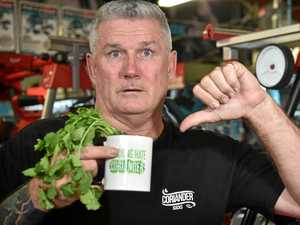 I #$@%in hate coriander: Sunshine Coast sign goes viral