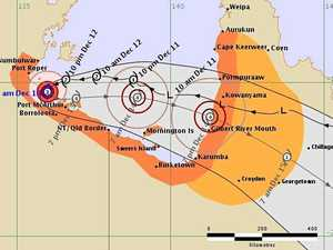 Cyclone Owen intensifies, could reach category 4 today