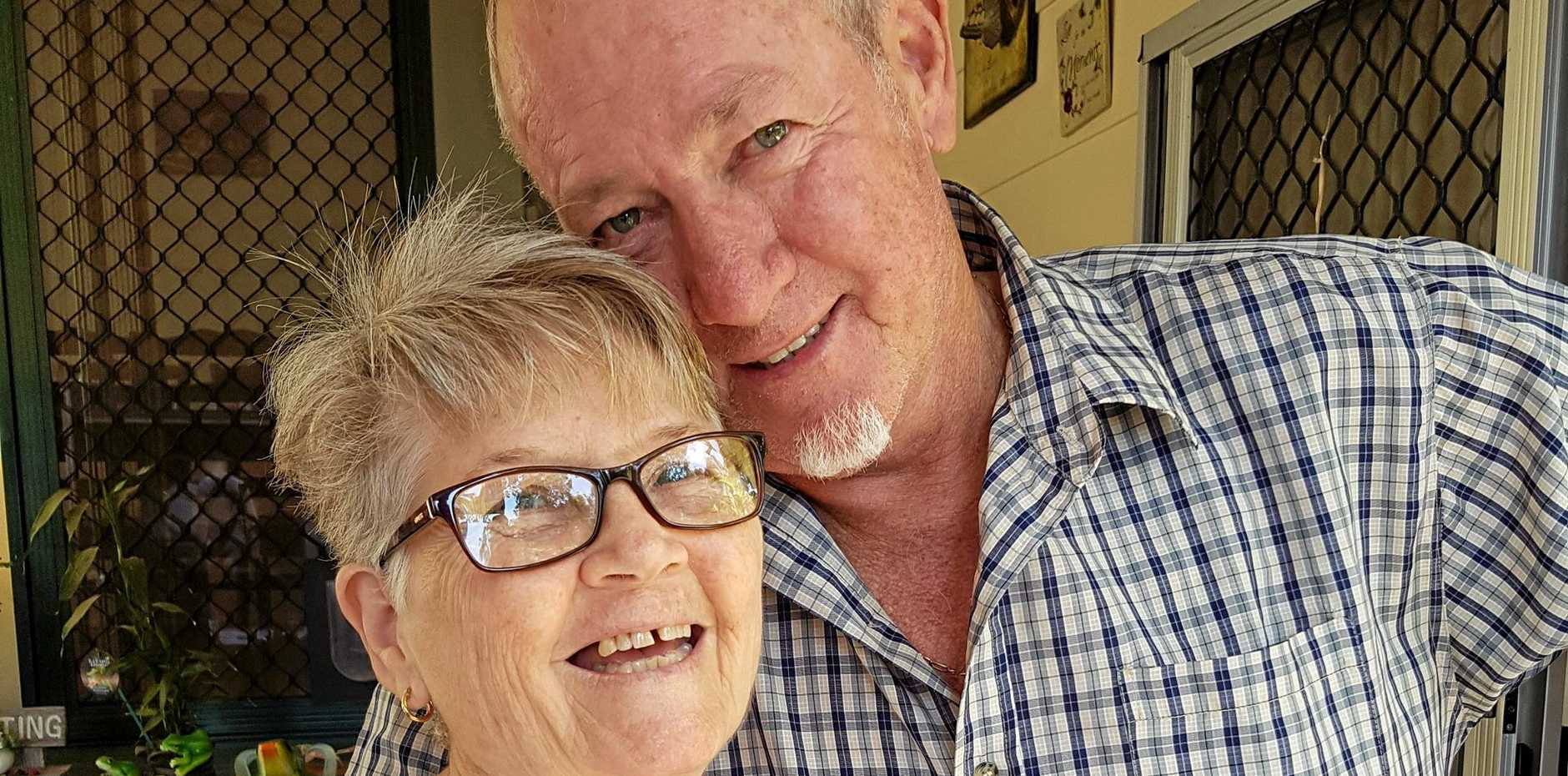 SOUL MATES: Mavis and Donald first met in Raglan where Donald was working as a night officer in the Queensland Railway.