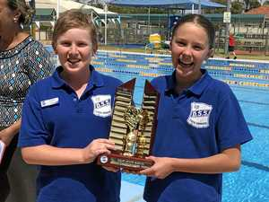Students dive into swimming carnival