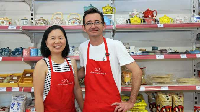 CULINARY DETECTIVES: New owners of the SG Asian Supermarket in Magellan St, Lismore, Liz Huang and Niall MacLeod were previously managed the store and said they love tracking down obscure ingredients and foods for their customers.