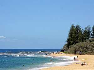 Search for missing swimmer at popular Coast beach