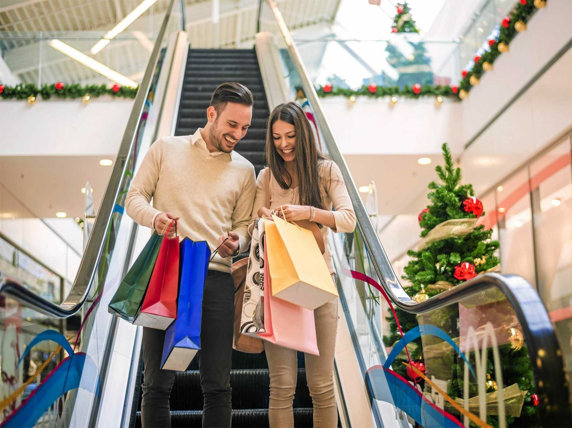 'GET OUT OF MY WAY': Chatterbox takes on Christmas shoppers.