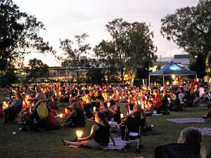 Rain puts a dampener on region's carols but not spirits