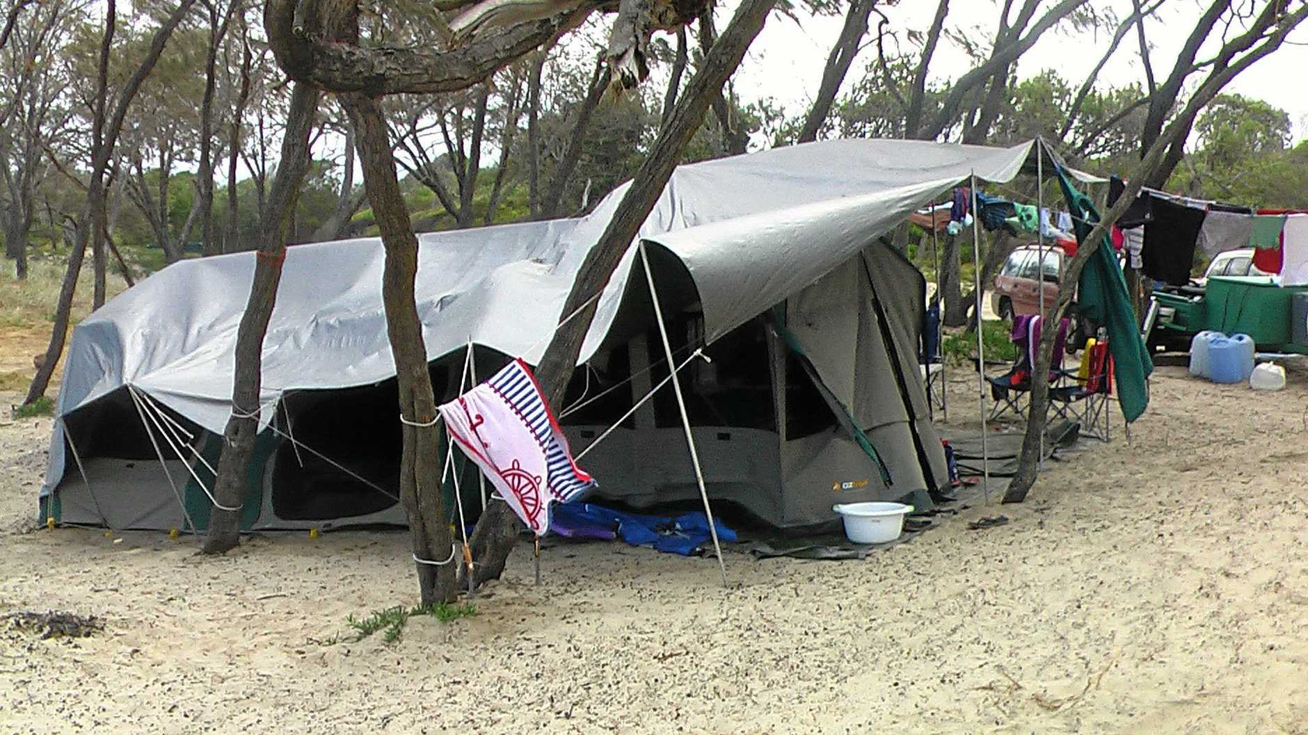 Campers in the Cooloola, Inskip and Rainbow Beach peninsulas are urged to follow weather reports to prepare ahead for incoming