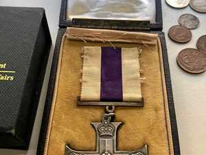 Medals and related items found by police