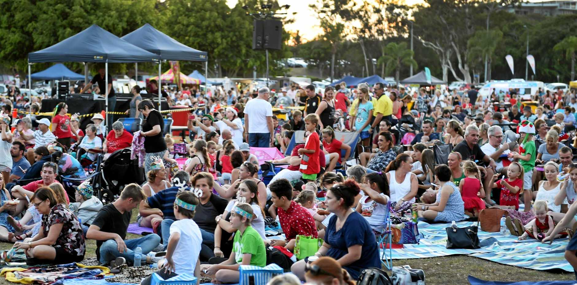 NO CAROLS: Hervey Bay RSL Carols by Candlelight has been cancelled due to an impending deluge over the Fraser Coast this weekend.