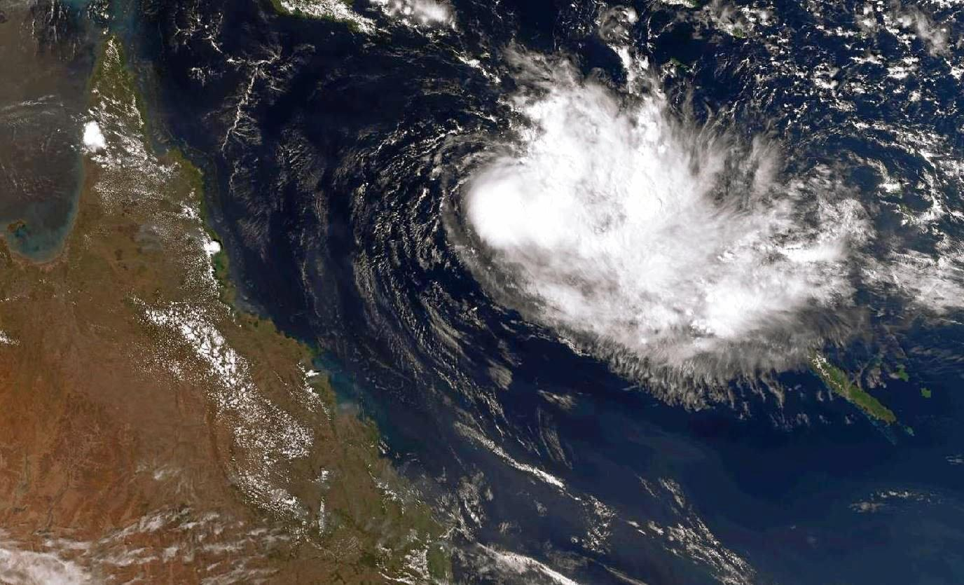 Tropical Cyclone Owen has been forecast to downgrade to a tropcial low again this evening.
