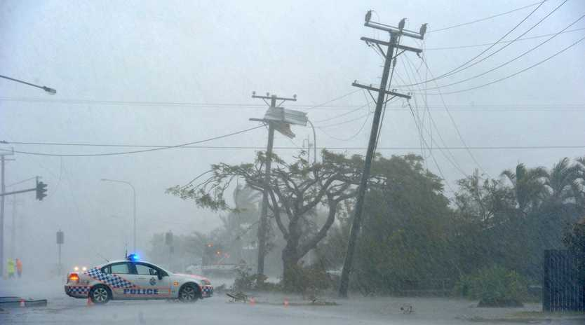 The Mackay region is being urged to be vigilant and heed warnings in the event of powerlines falling over the coming days.