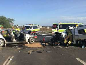 Man dead, another fights for life after horror two-car crash