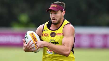 Corey Oates started out his Broncos career as a second-rower. Picture: AAP