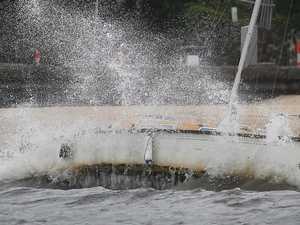 Yacht breaking up in national park 'no environmental hazard'