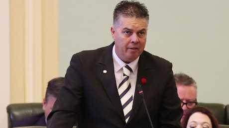 "Thuringowa MP Aaron Harper said the funding was a ""great big Christmas present"". Photographer: Liam Kidston."