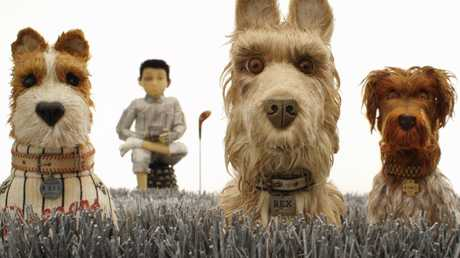 Isle of Dogs features vocal performances from stars including Bill Murrary, Edward Norton and Jeff Goldblum. Picture: Fox Searchlight Pictures