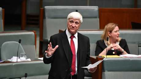 "Kennedy MP Bob Katter said Telstra's job cuts were a ""disastrous sign"" of privatisation in the telecommunications industry. Picture: AAP Image/Mick Tsikas"