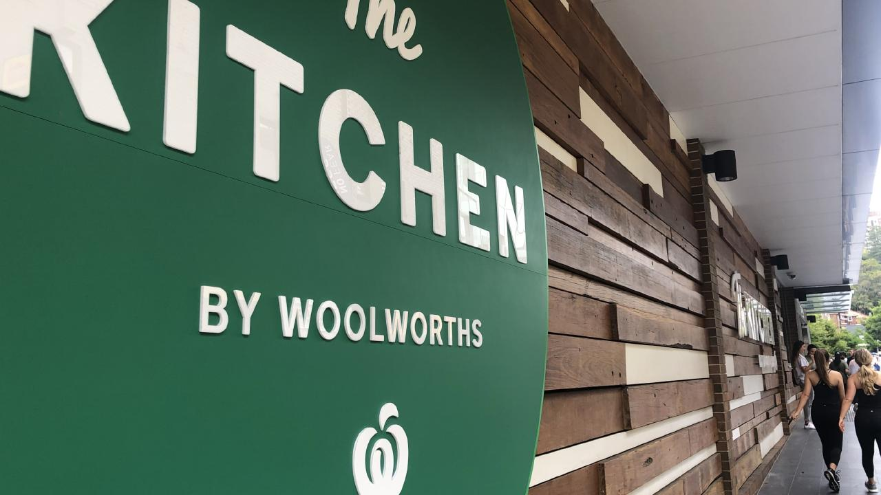 The Kitchen by Woolworths: Only in Double Bay. Picture: Benedict Brook.